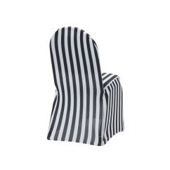 Cheap Black Chair Covers For Sale Office Seat Cushion Stretch Spandex Banquet Cover And White Striped Your