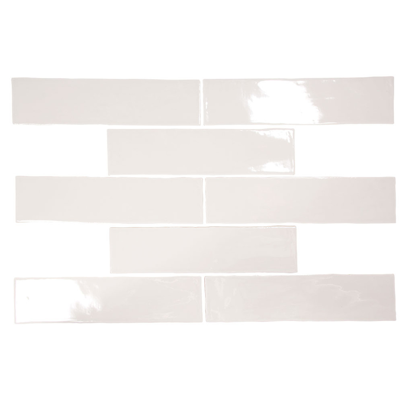 pastel light grey glossy 3x12 porcelain subway tile box of 5 4 sq ft