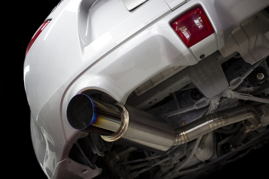 isr performance series ii titanium single gt exhaust nissan 370z
