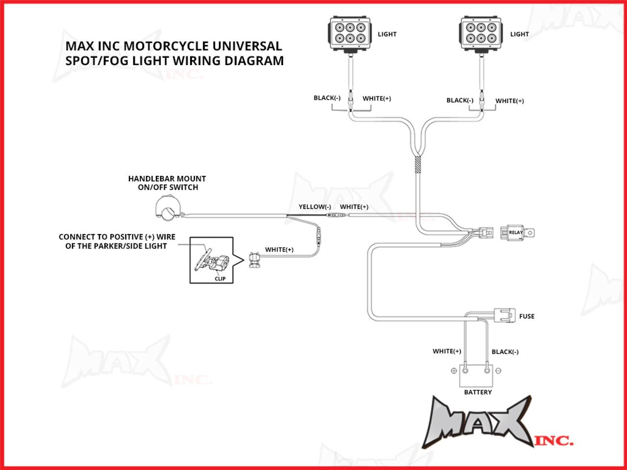 accessory spotlight wiring diagram for motorcycle wiring library rh 2 akszer eu rigid driving light wiring [ 1024 x 768 Pixel ]