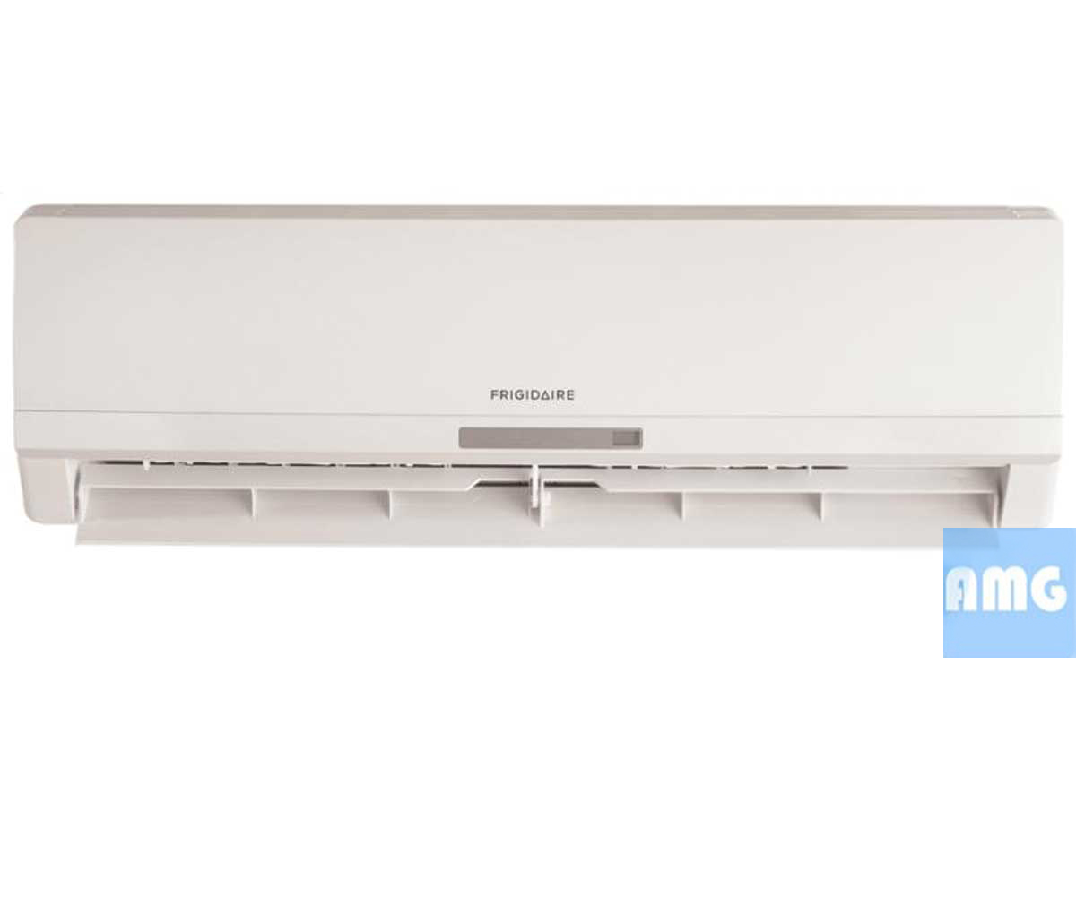small resolution of frigidaire ductless 9k mini split heat pump frs09pys1 front view