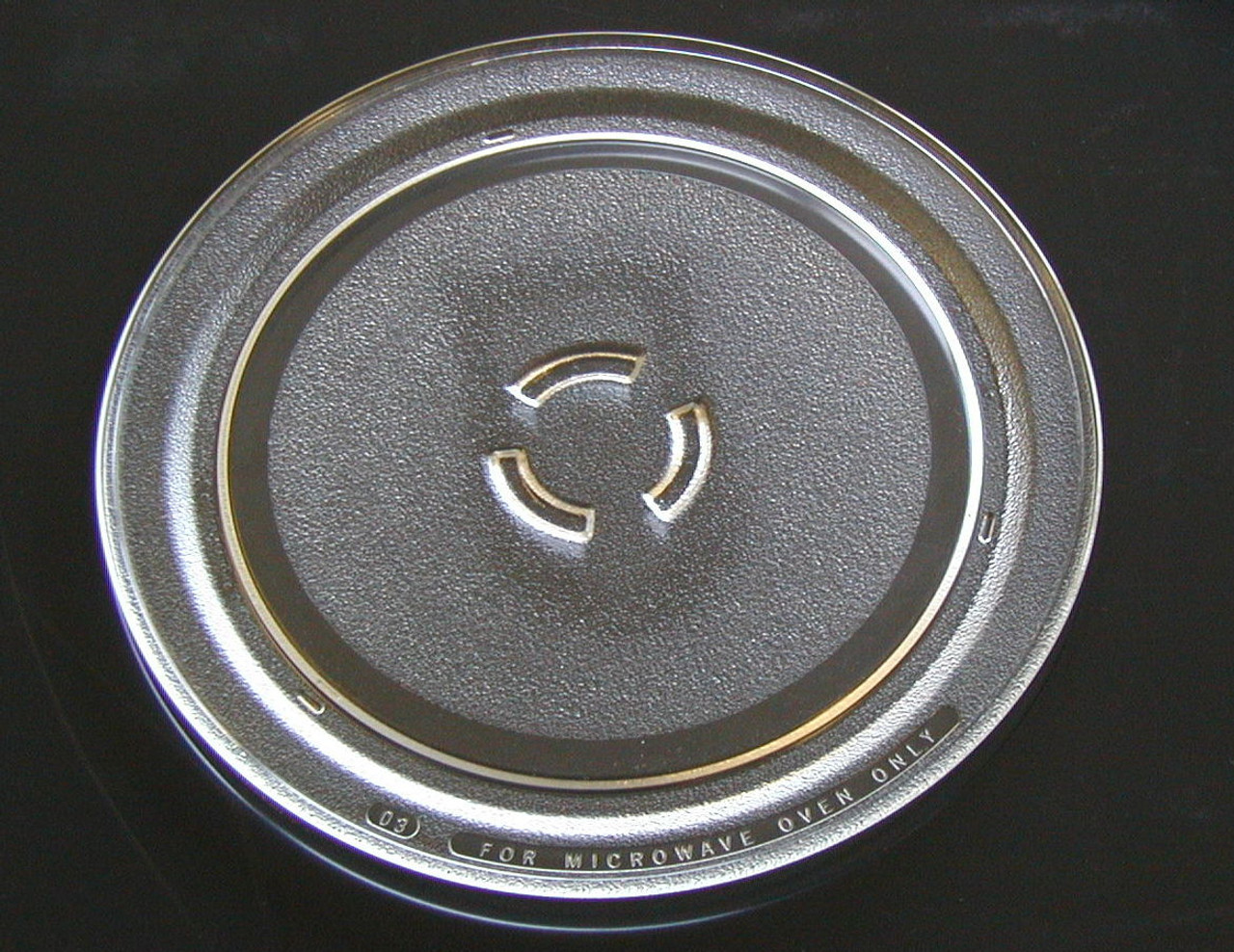 whirlpool microwave glass turntable plate tray 12 in 4393799