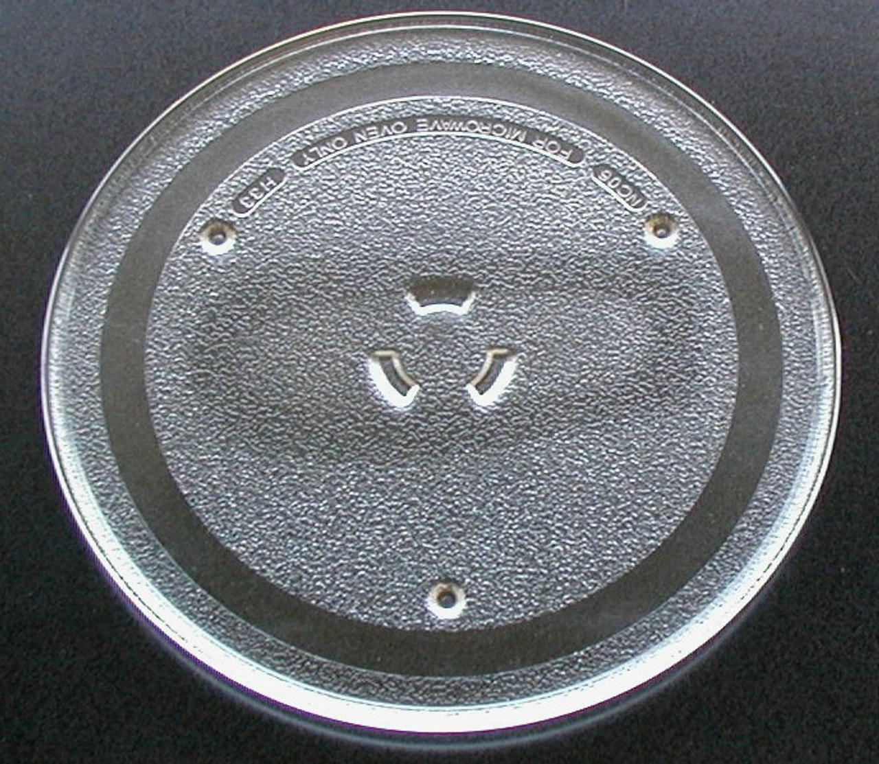 g e microwave glass turntable plate tray 10 wb49x10065