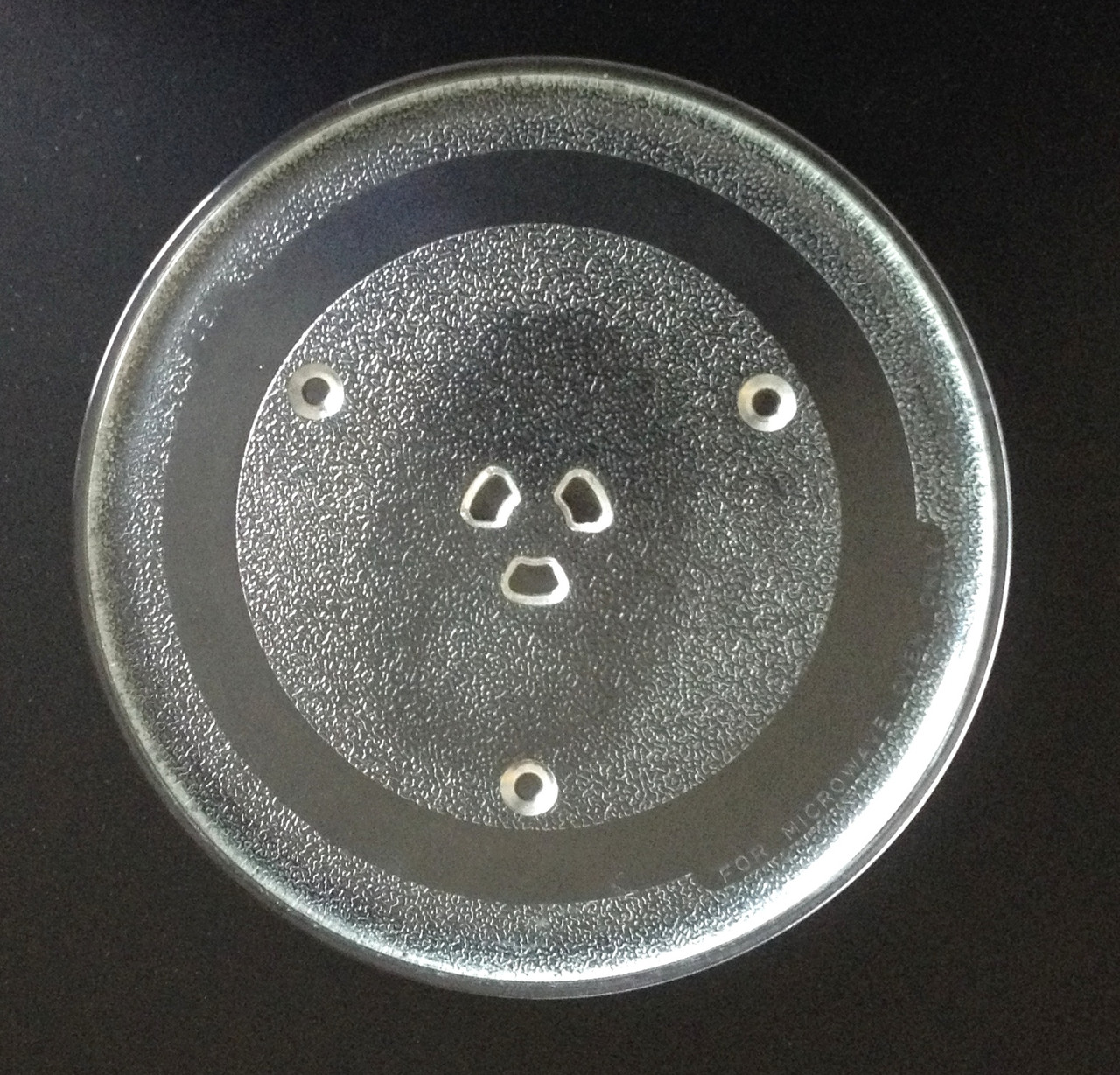 ge microwave glass turntable plate tray 10 5 8 wb48x21336