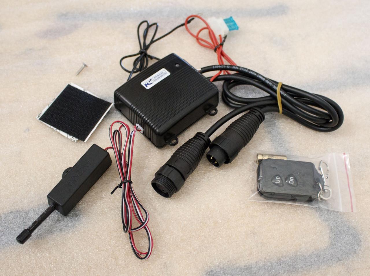 hight resolution of wireless remote kti
