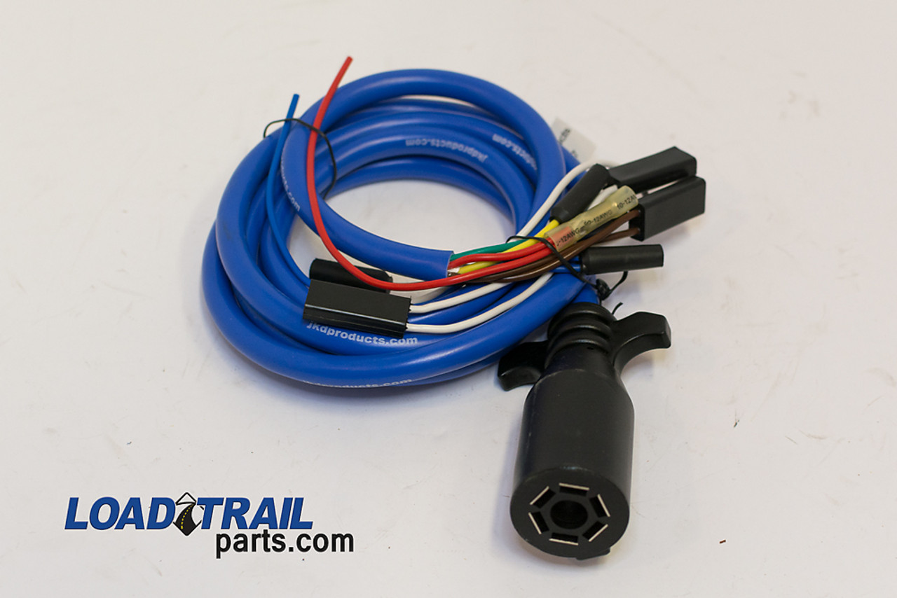 small resolution of wire u0026 wiring harnesscold weather wire harness extension 7 way plug 090010