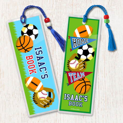 kid s personalized bookmarks