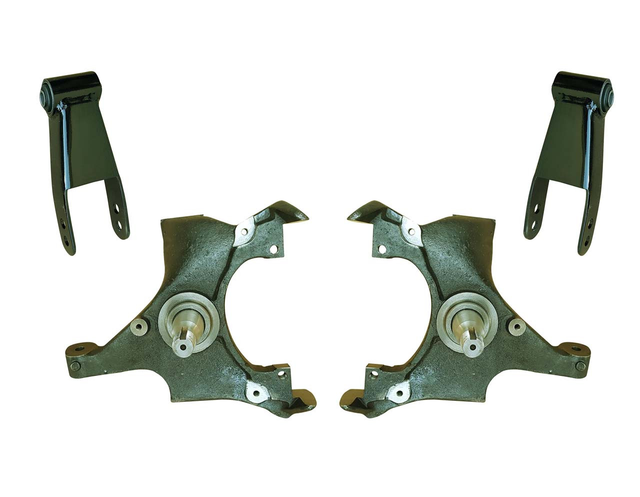 medium resolution of 92 99 yukon tahoe suburban 2 drop spindle lowering kit