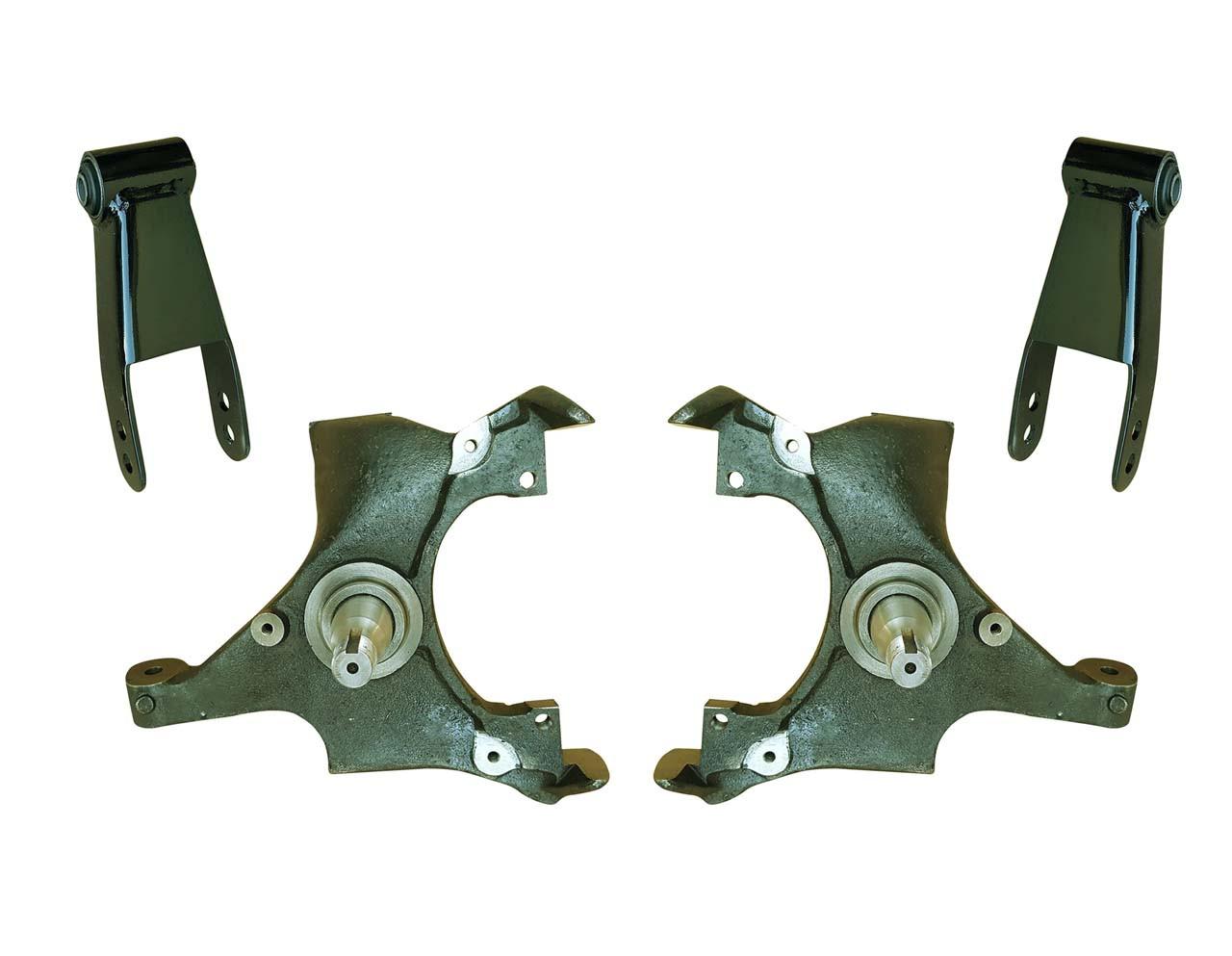 small resolution of 92 99 yukon tahoe suburban 2 drop spindle lowering kit
