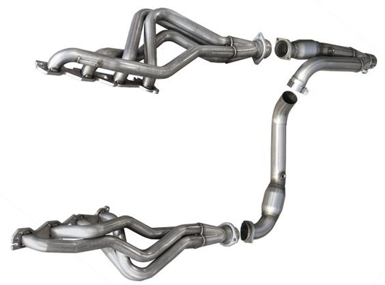 arh long exhaust system 1 3 4 header catted y pipe 09 13 ram 1500 hemi 6 speed rm156 09134300lswc
