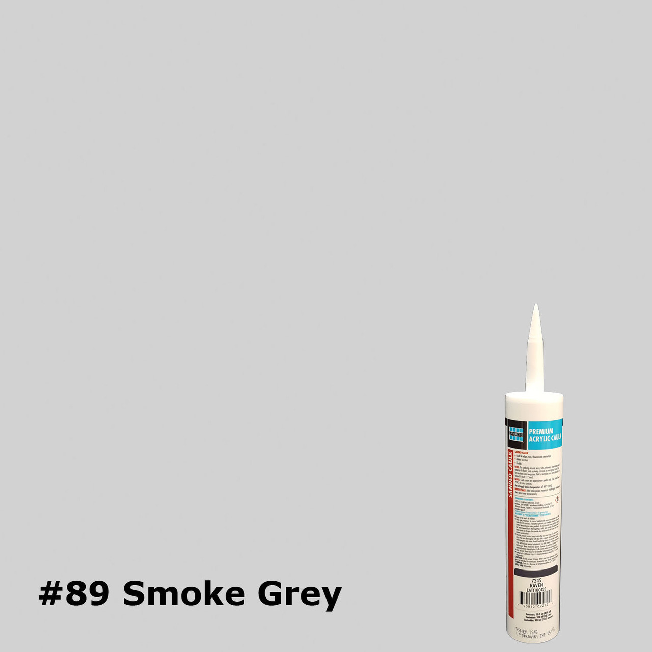 sanded caulk 89 smoke grey 10 5oz