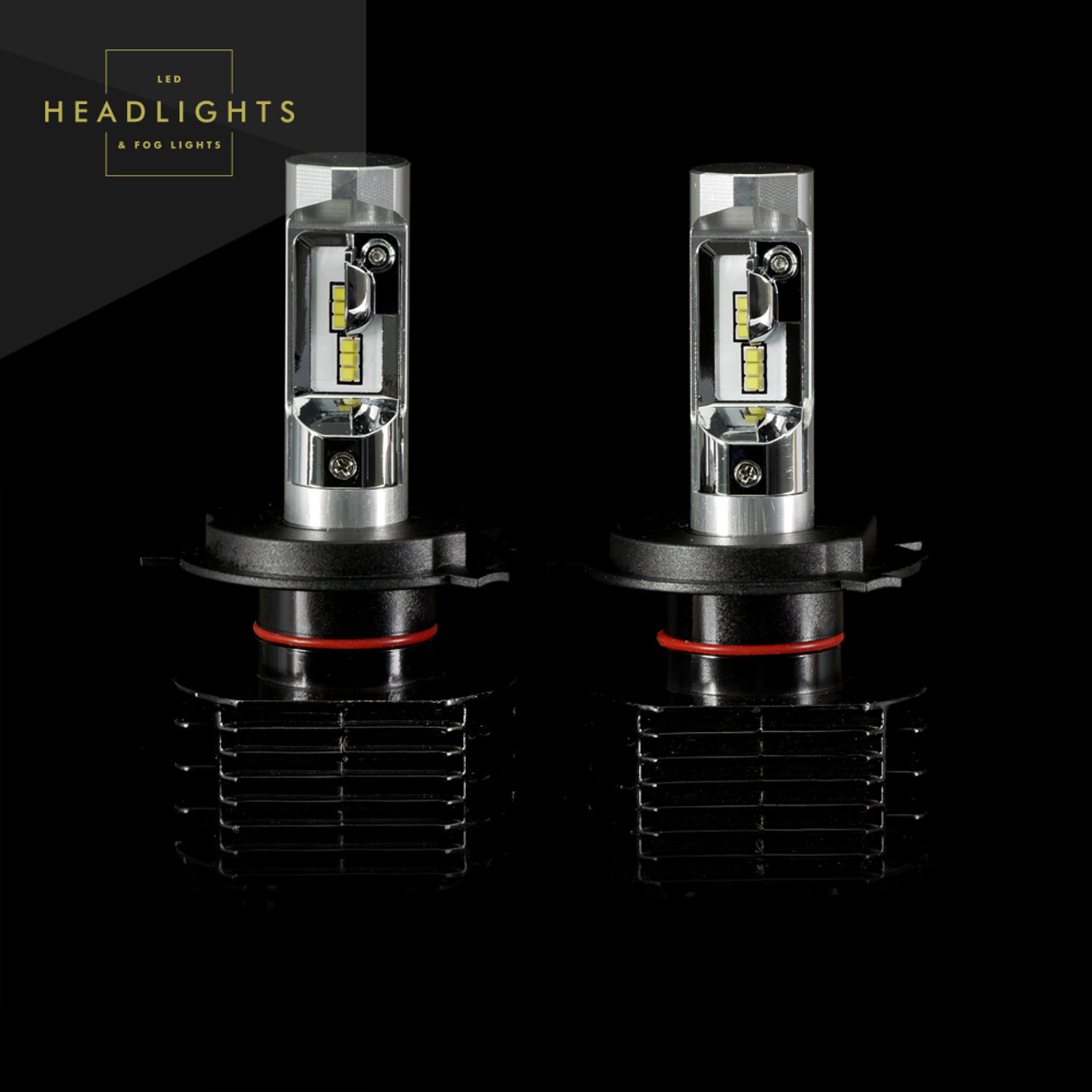 gtr lighting ultra series led headlight bulbs h4 9003 3rd generation [ 1280 x 1280 Pixel ]