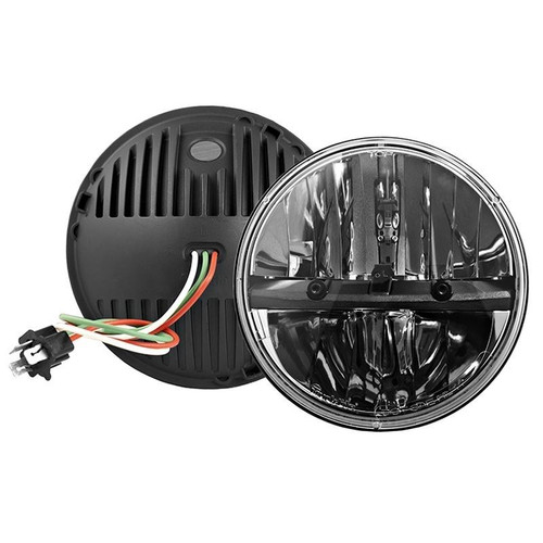 truck lite led headlight wiring diagram tele diagrams 27270c 7 round reflector housing