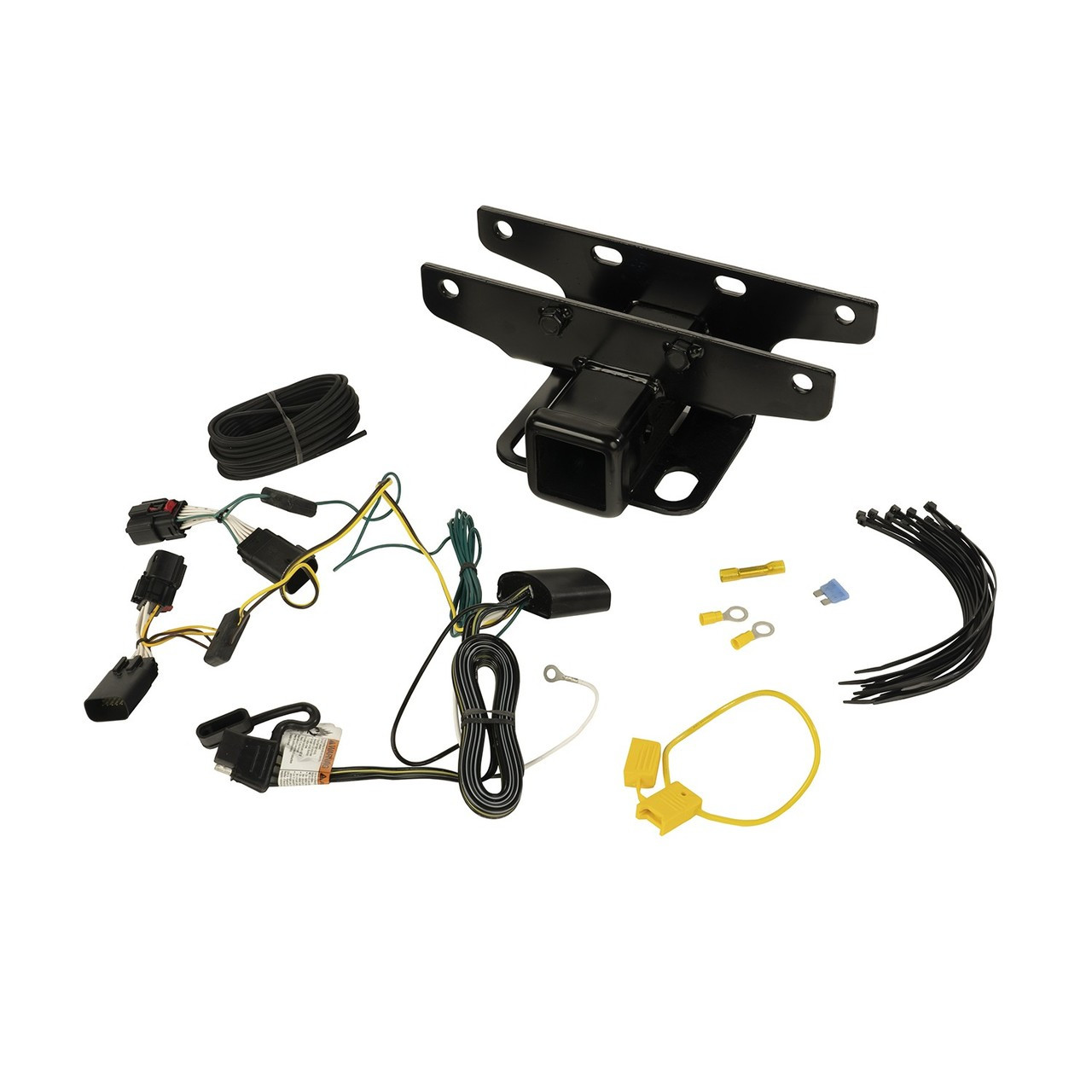 small resolution of jeep wrangler jl receiver hitch kit w wiring harness 18 19 jl