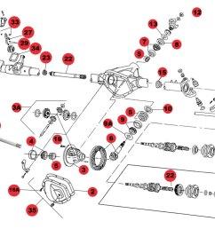 dana 44 rear axle diagram [ 1050 x 776 Pixel ]