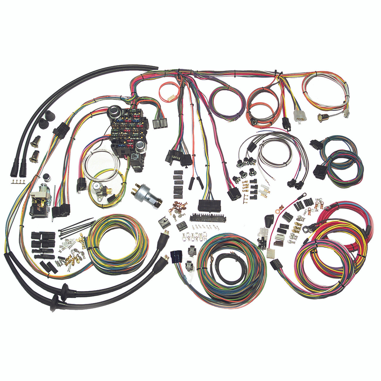 hight resolution of american autowire 1957 chevrolet car classic update complete wiring kit ame 500434