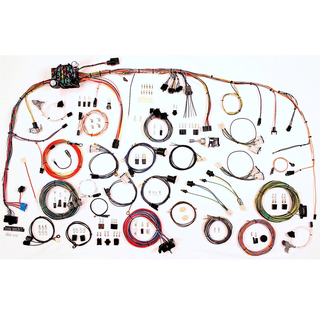 hight resolution of american autowire 1973 1982 chevrolet truck classic update complete wiring kit ame