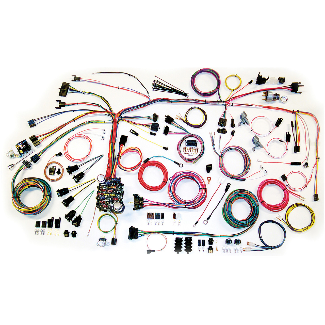 hight resolution of american autowire 1967 1968 chevrolet camaro classic update complete wiring kit ame