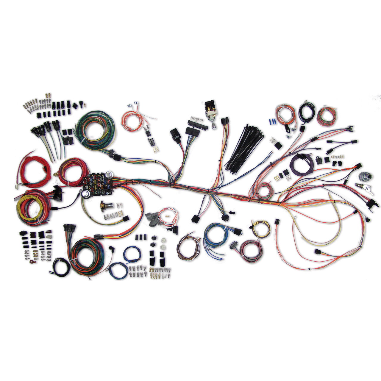 american autowire 1964 1967 chevrolet chevelle el camino classic aftermarket wiring kits american autowire toggle turn signal switch [ 1280 x 1280 Pixel ]