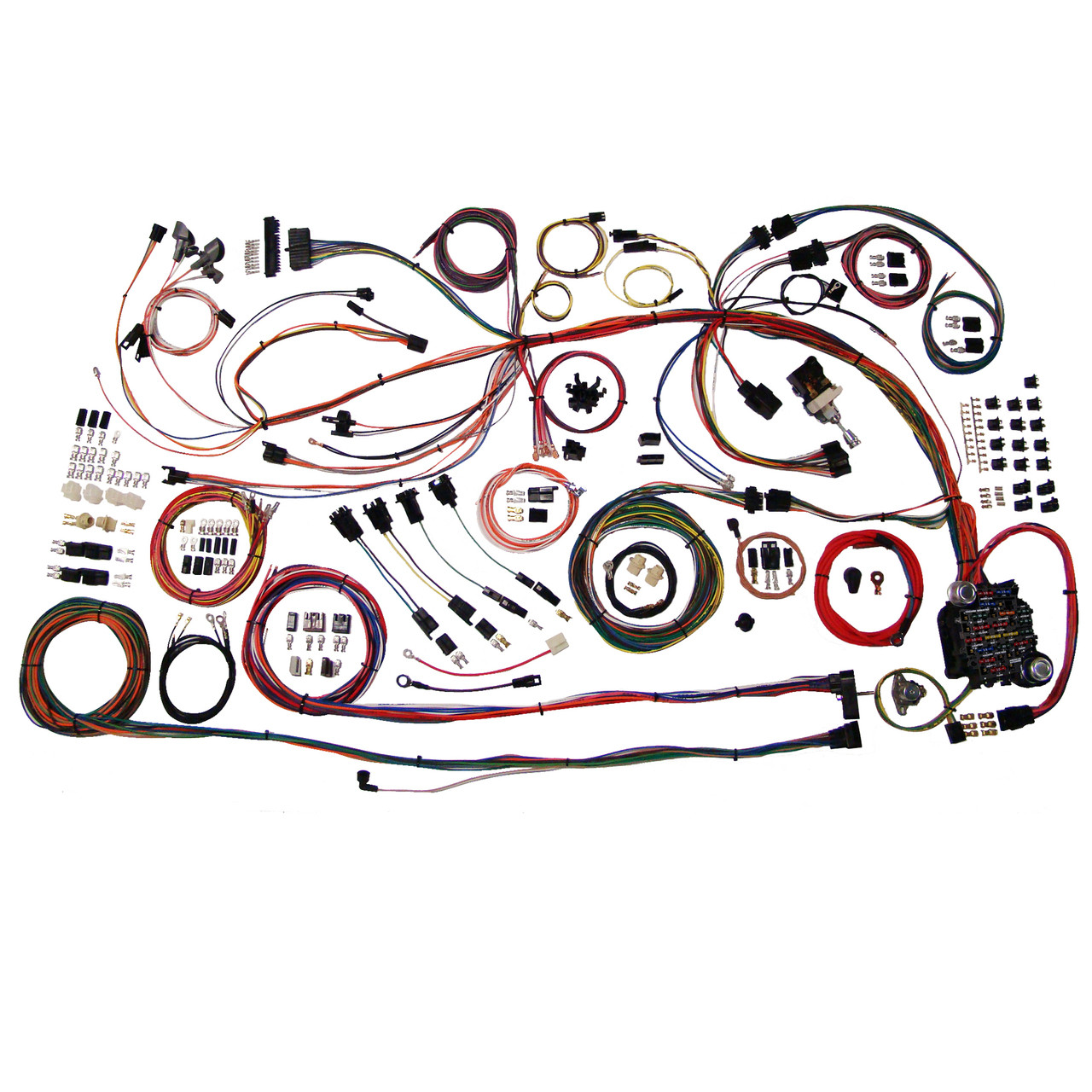 hight resolution of american autowire 1968 1969 chevrolet chevelle el camino classic 68 chevelle wiring diagram autowire