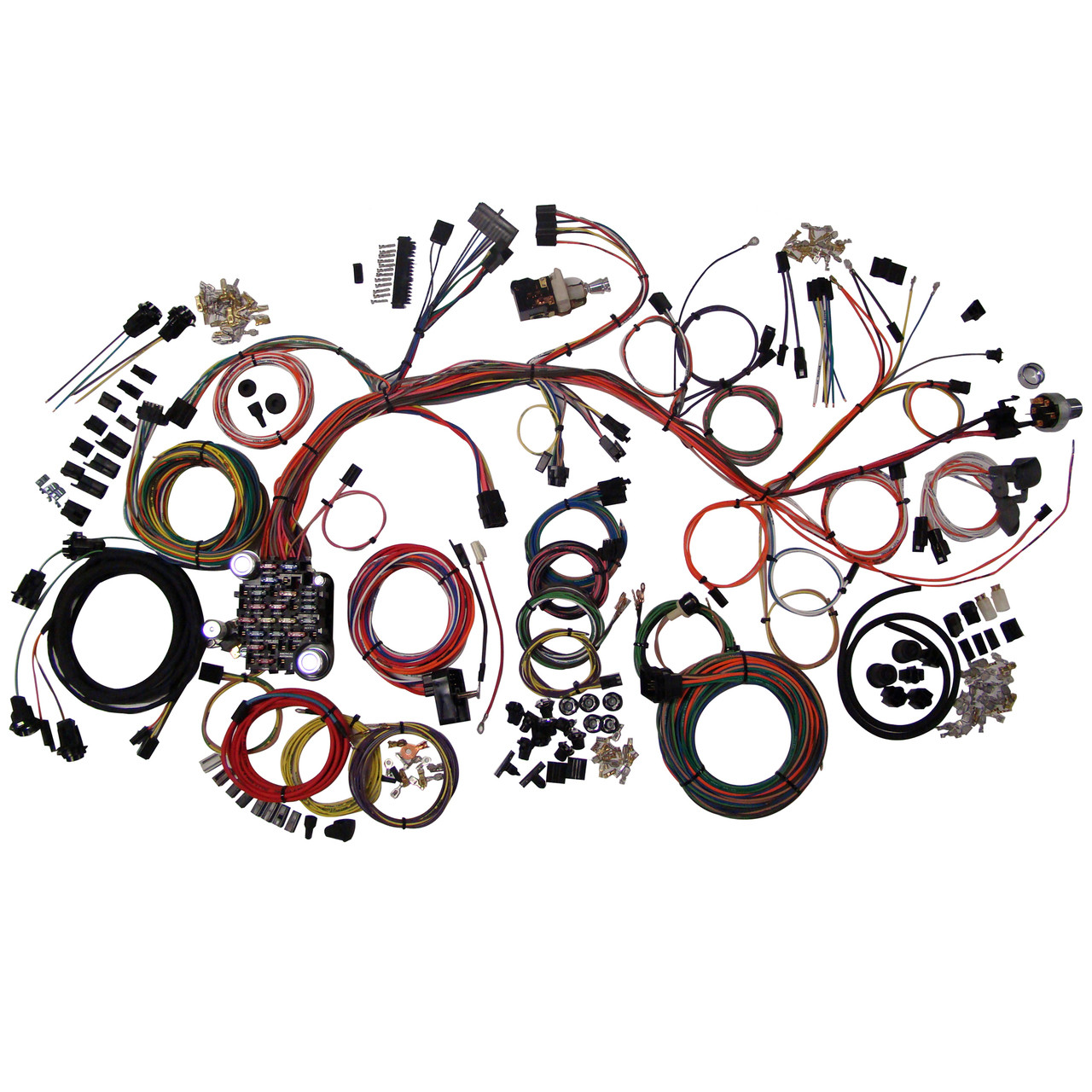 medium resolution of american autowire 1961 1964 chevrolet impala classic update complete wiring kit ame