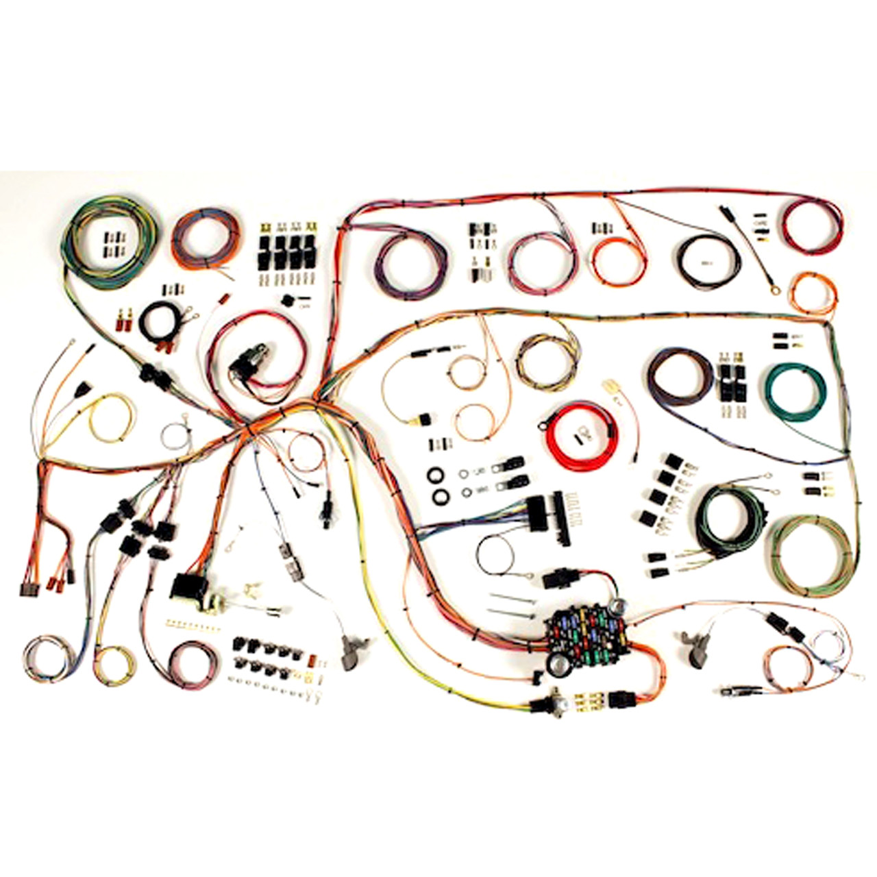 hight resolution of american autowire 1960 1964 ford falcon 1960 1965 mercury comet classic update