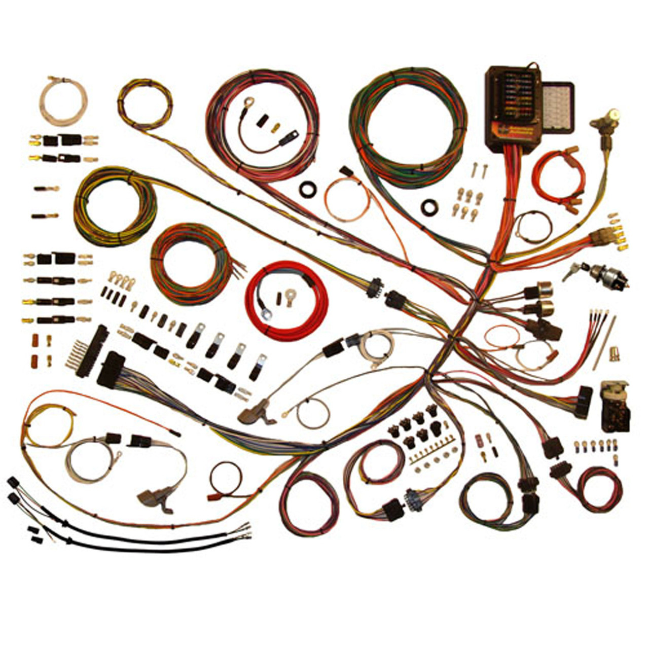 hight resolution of american autowire 1953 1956 ford truck classic update complete wiring kit ame