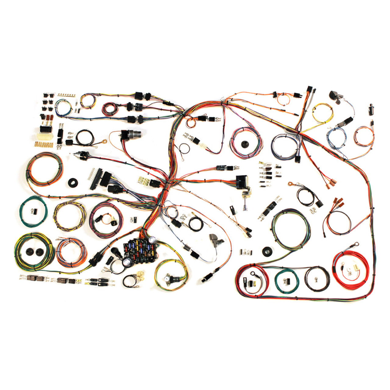 hight resolution of american autowire 1967 1972 ford truck classic update complete wiring kit ame