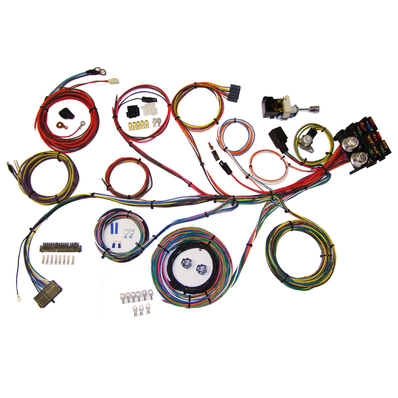 hight resolution of autowire builder 19 kit 510006 street rod hot universal wiring autowire builder 19 kit 510006 street rod hot universal wiring harness