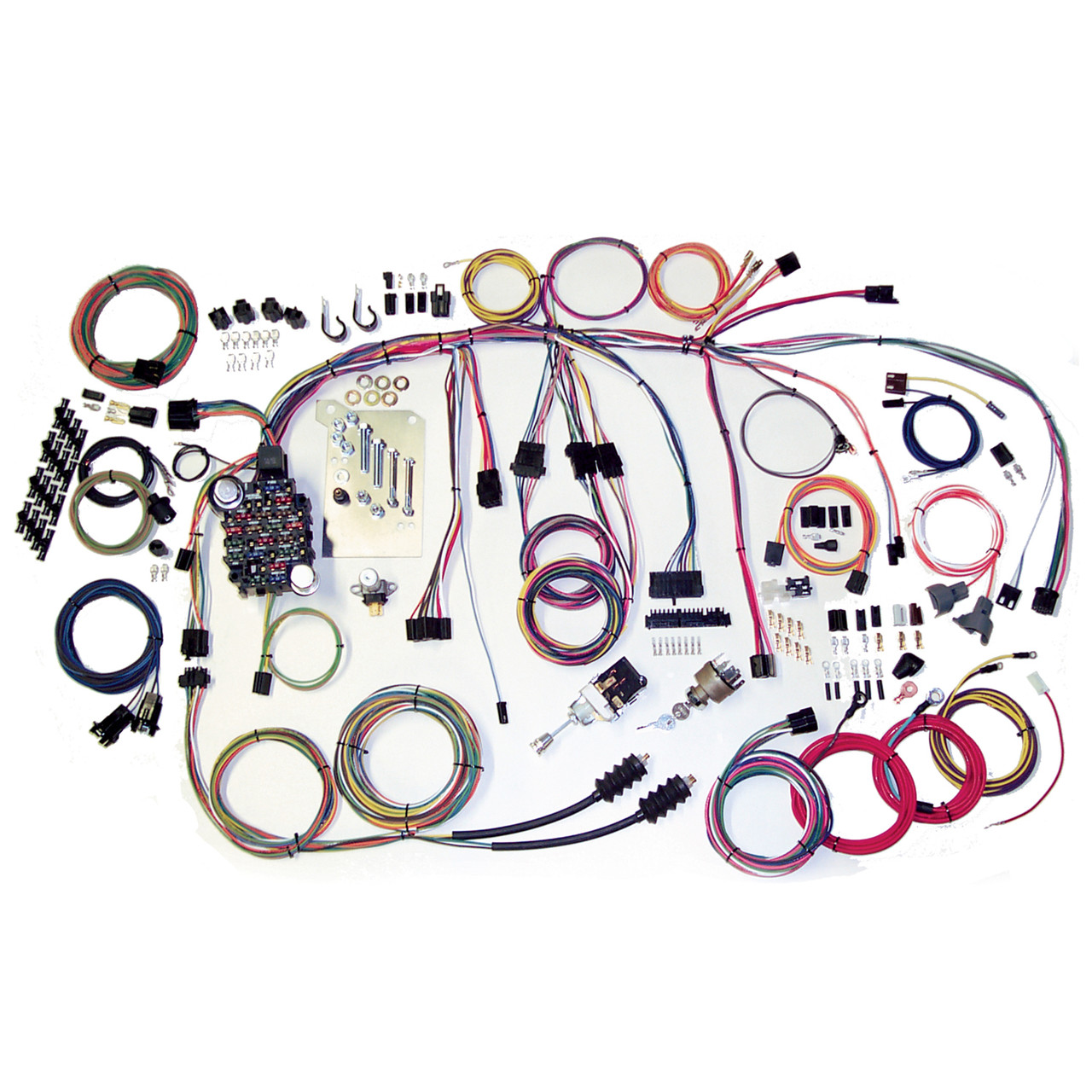 hight resolution of american autowire 1960 1966 chevrolet truck classic update complete wiring kit ame
