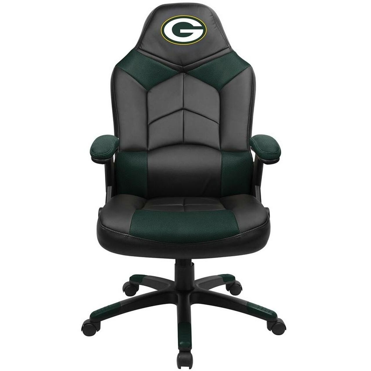 green bay packers chair blue upholstered office oversized gaming ozone billiards