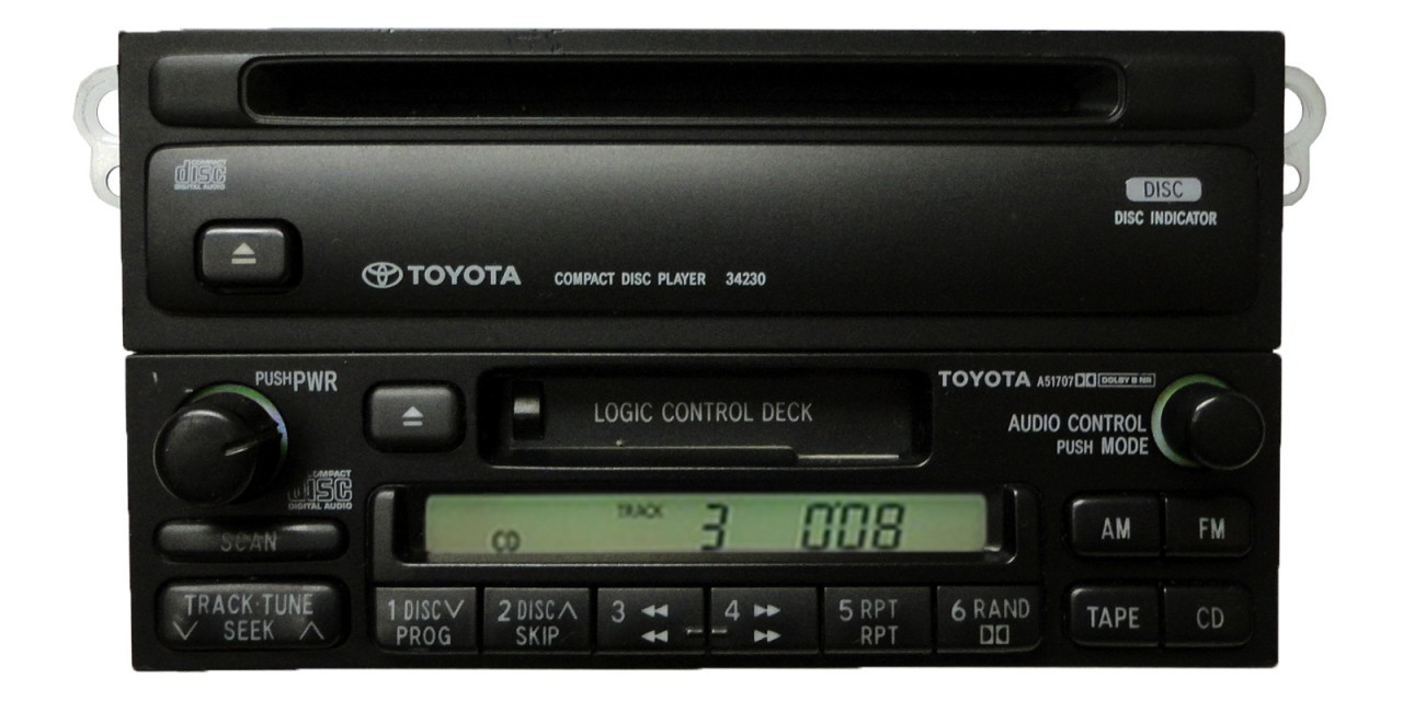 hight resolution of 90 91 92 93 94 95 96 97 98 99 toyota celica 4runner camry radio tape