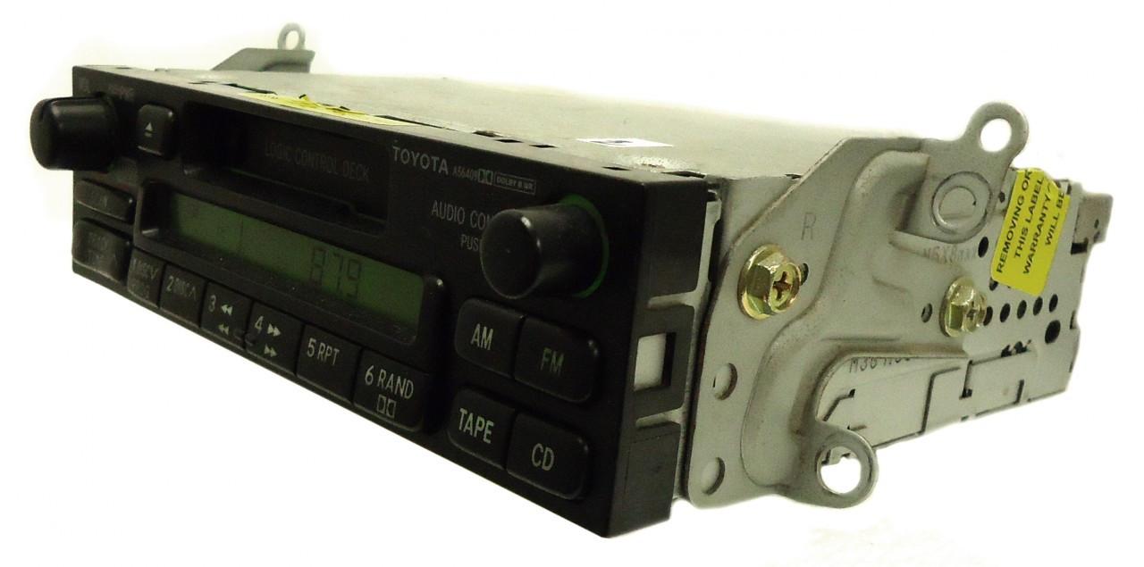toyota am fm radio cassette tape player a51707 ad1701 4runner avalon camry celica mr2 seuoia solara  [ 1280 x 635 Pixel ]