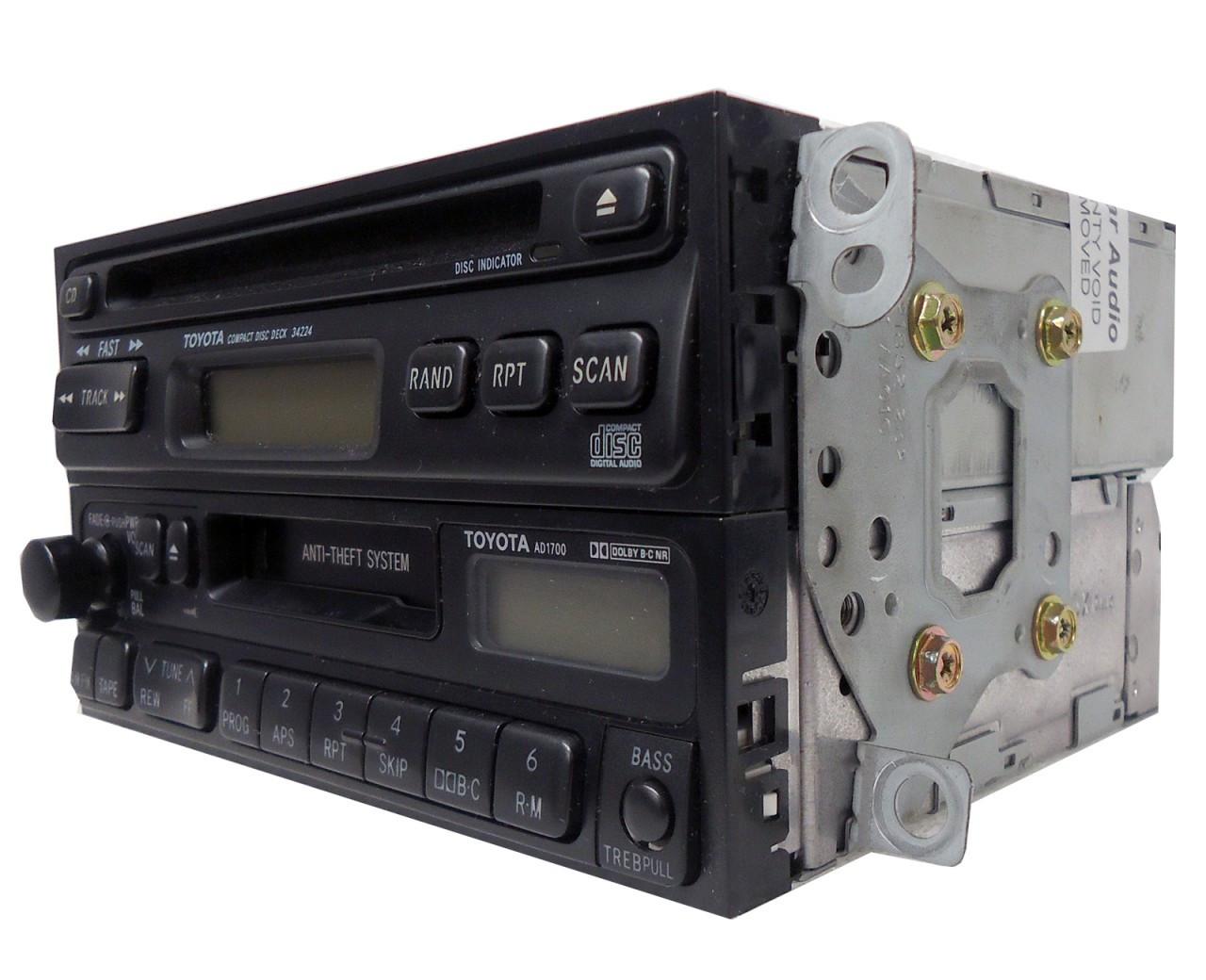 medium resolution of  90 91 92 93 94 95 96 97 98 99 toyota celica 4runner camry radio tape