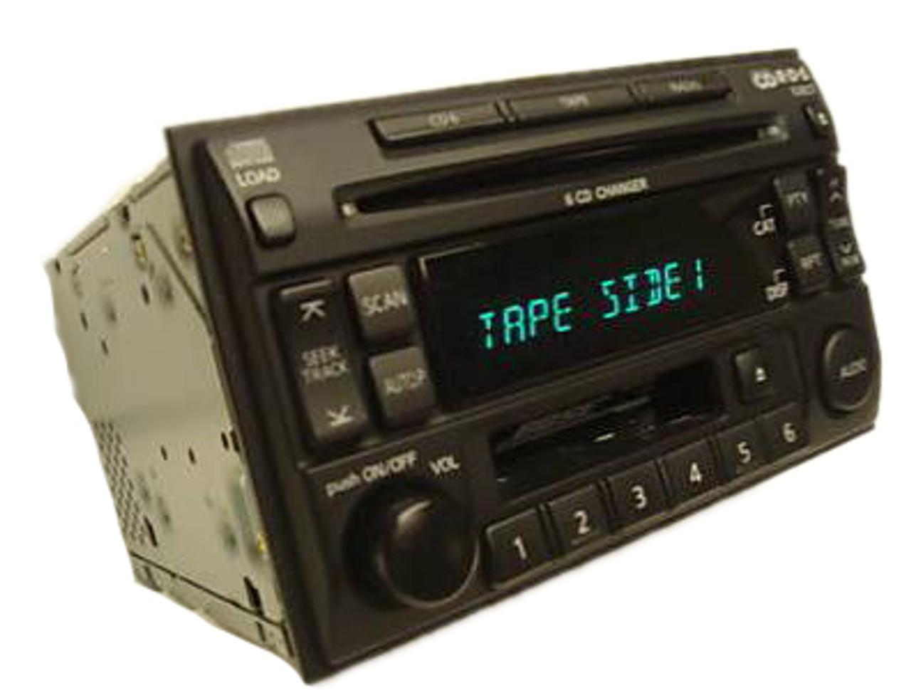 medium resolution of  nissan pathfinder se le maxima bose radio 6 disc changer tape cassette cd player pn