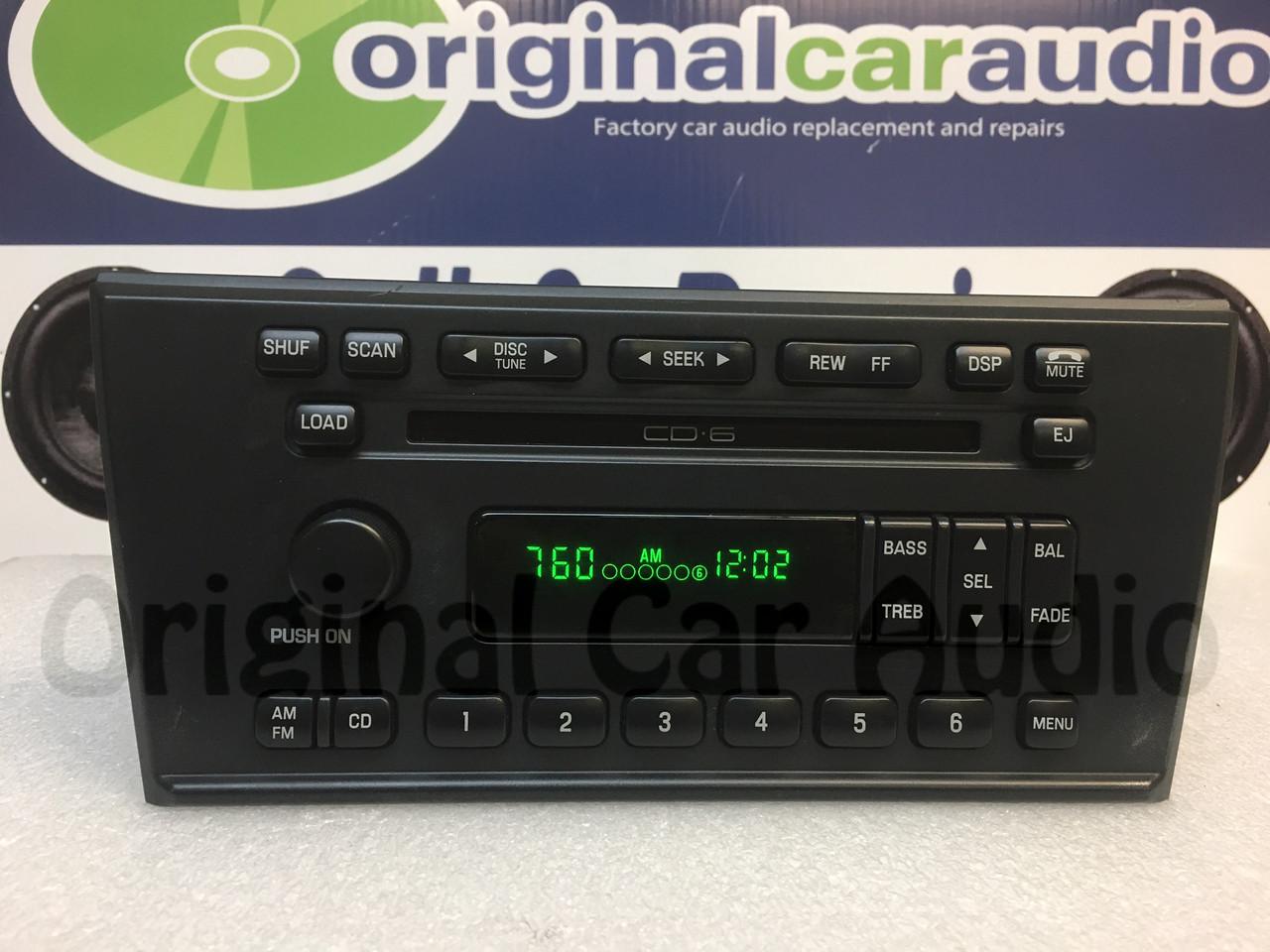 medium resolution of 2000 2006 ford thunderbird radio 6 cd changer