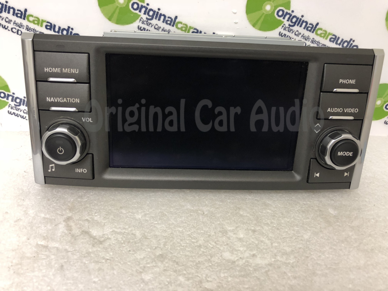 medium resolution of  2010 2012 land rover range rover hse oem touch screen navigation radio display screen monitor