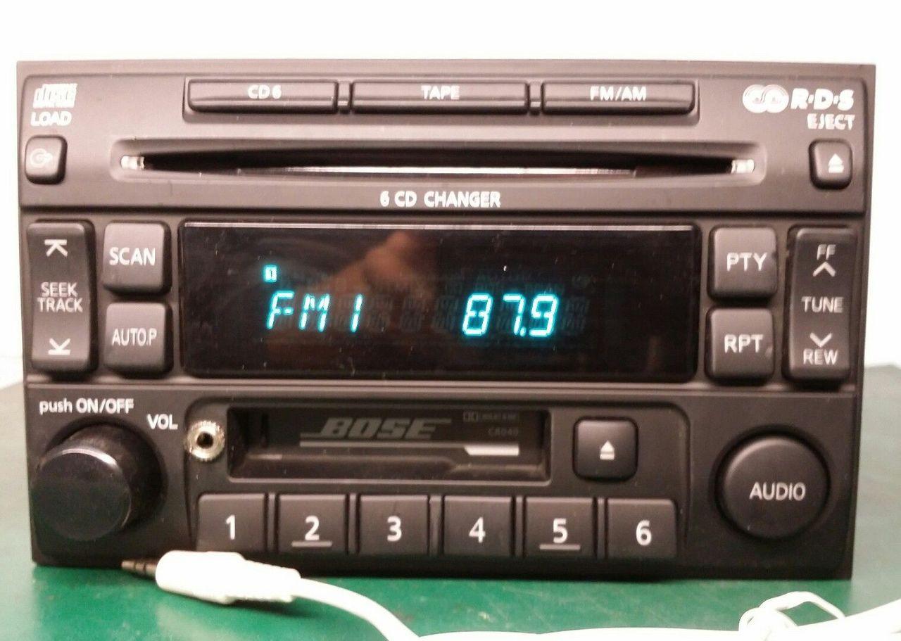 1996 1997 1998 1999 2000 2001 2002 2003 2004 nissan pathfinder se le maxima bose radio  [ 1280 x 911 Pixel ]