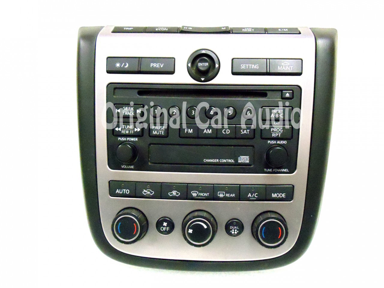 hight resolution of merged with ni182 nissan murano radio cd player ac heat temp climate controls 2003 2004 2005