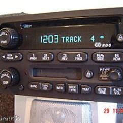Gm Radio Cal Err Nordyne Gb5bm Wiring Diagram Repair 2003 2004 2005 2006 Chevy Gmc Cadillac Cd Receiver Am Fm Tape Cassette Deck Player