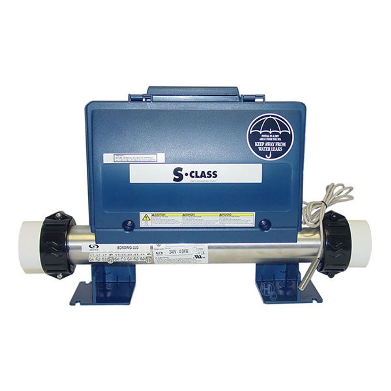 hight resolution of gecko s class spa control pack 4kw heater 2 pumps circ pump