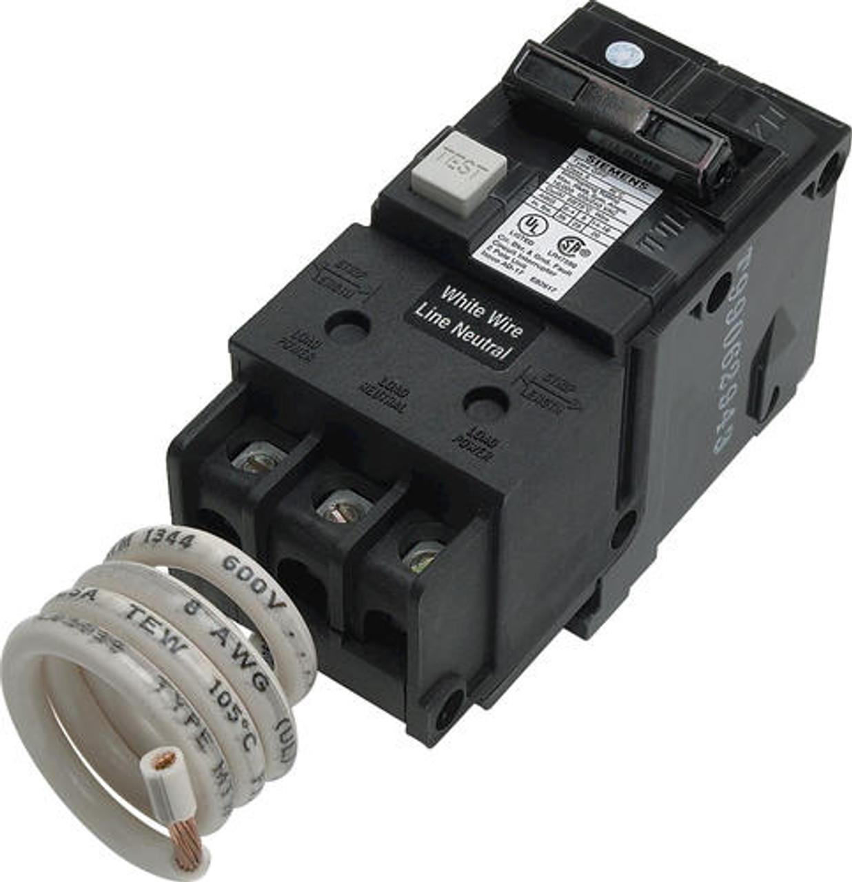 siemens 40 amp gfci double pole breaker in canada siemens gfci breaker wiring [ 1236 x 1280 Pixel ]