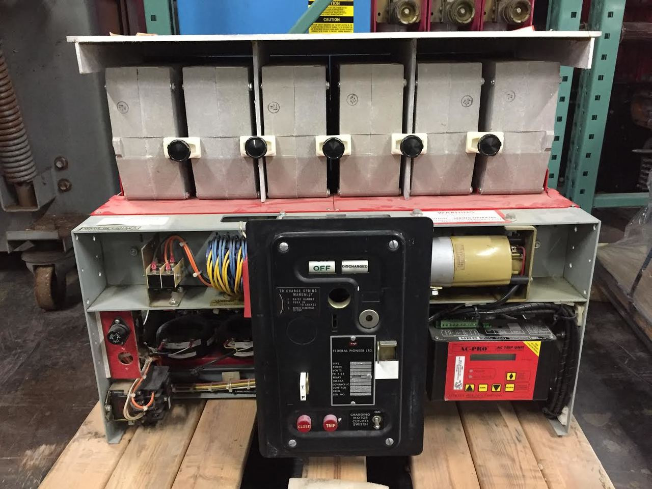 hight resolution of 75h 2 federal pioneer 3000a eo do air circuit breaker w ac