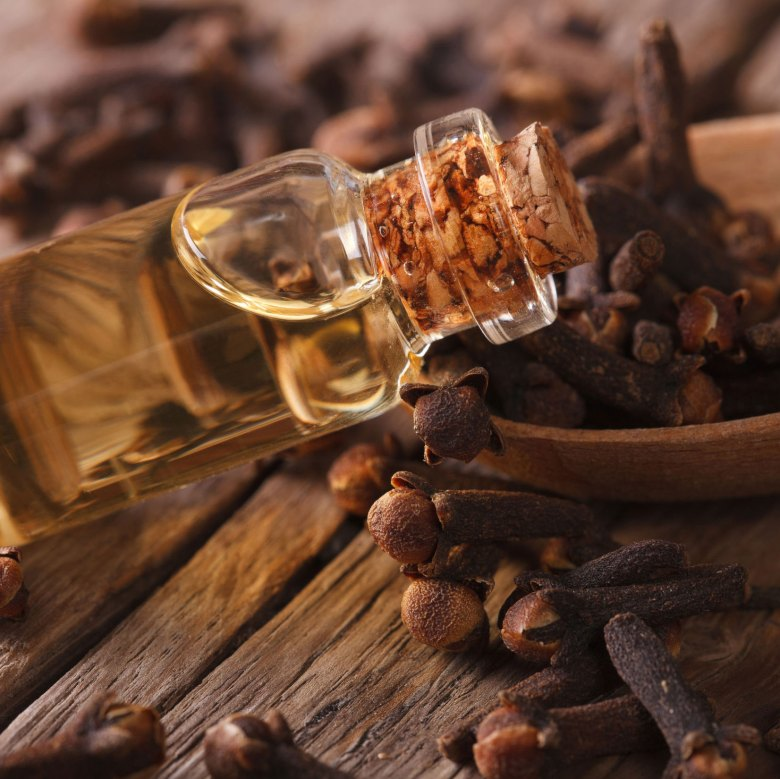 Clove bud essential oil from Indonesia
