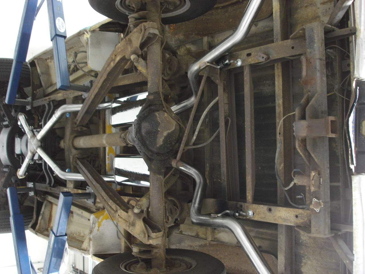 medium resolution of c10 exhaust system underbody 1960 1972