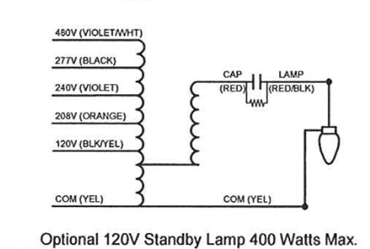 medium resolution of  m1000ml5ac5m 500k universal metal halide ballast wiring