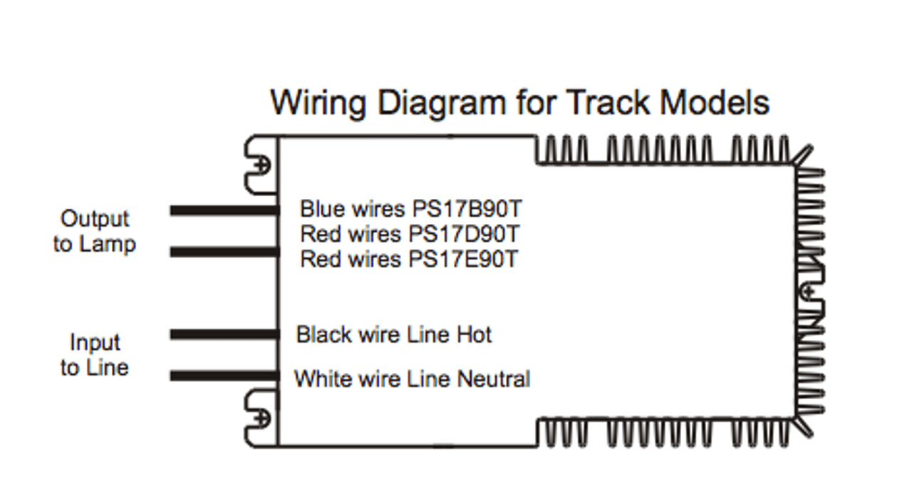 small resolution of powerselect ps17b90t 175 watt electronic metal halide ballast powerselect ps17b90t wiring diagram