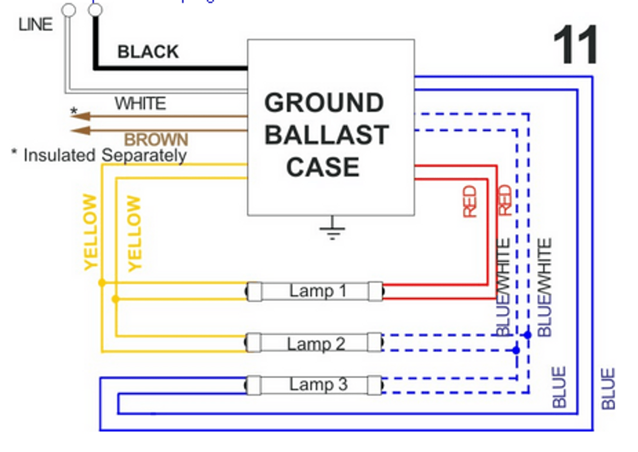 wiring diagram on 3 light allanson 448 at magnetic sign ballast 8 to 18 feet total length on 3  [ 1280 x 907 Pixel ]