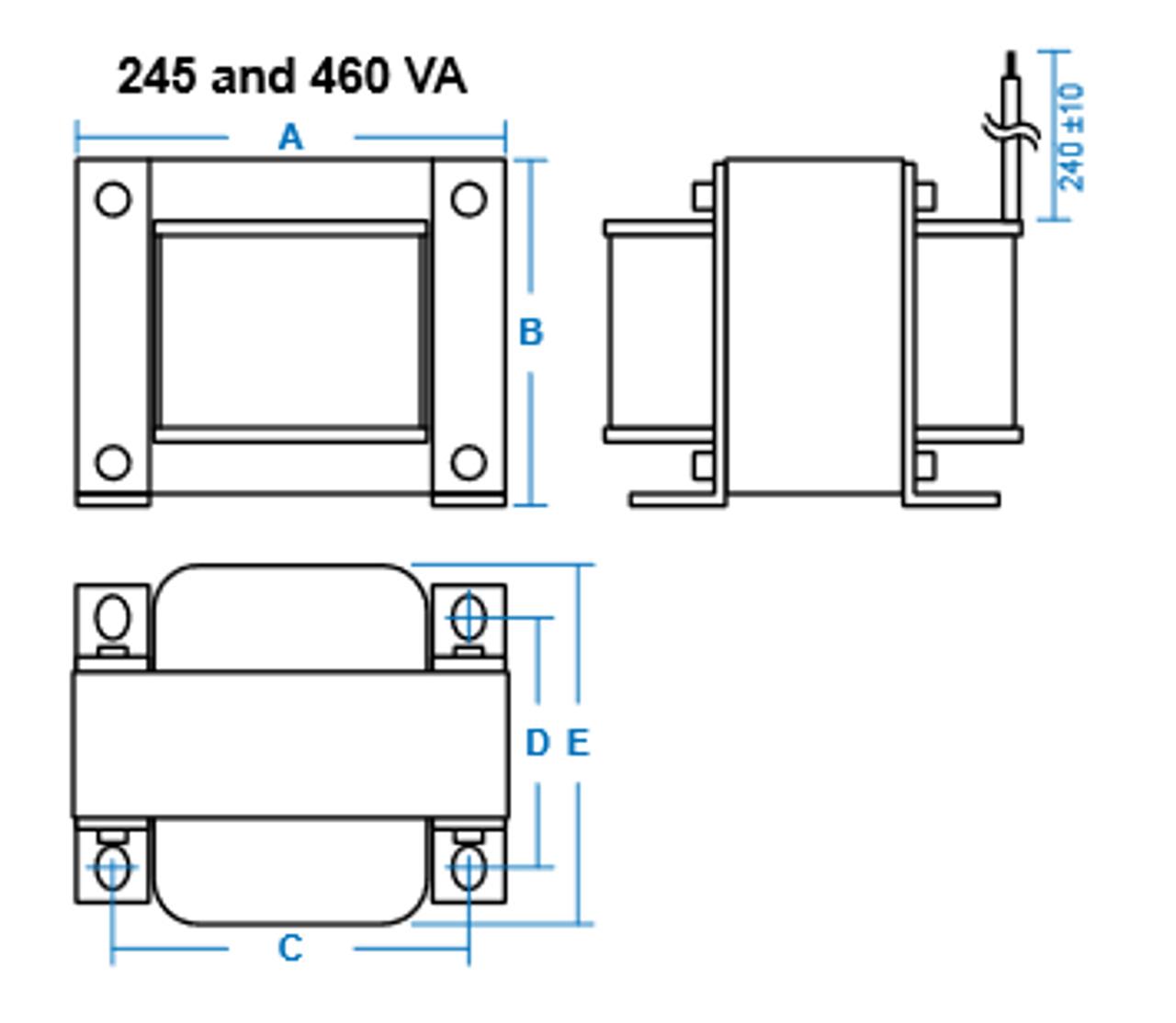 trp 480 347 277 series 460va dimensions  [ 1280 x 1114 Pixel ]