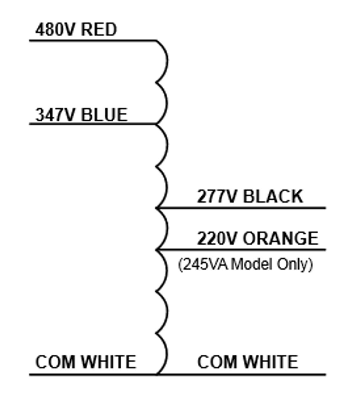medium resolution of  trp 480 347 277 series wiring
